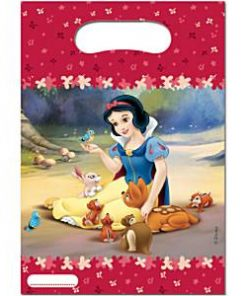 Snow White Party Plastic Loot Bags