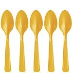 Yellow Spoons