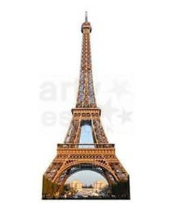 Eiffel Tower Cardboard Cutout