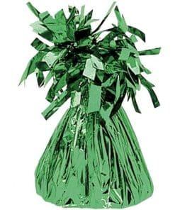 Green Foil Balloon Weight
