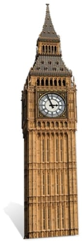 London Big Ben Cardboard Cutout