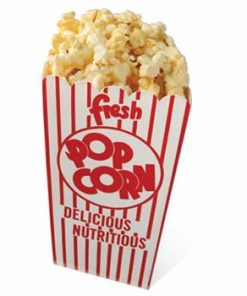 Popcorn Cardboard Cutout