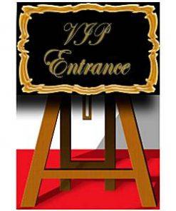 VIP Sign Cardboard Cutout - 116cm