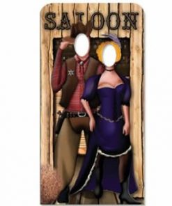 Wild West Stand In Cardboard Cutout