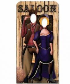 Wild West Stand In Cardboard Cutout