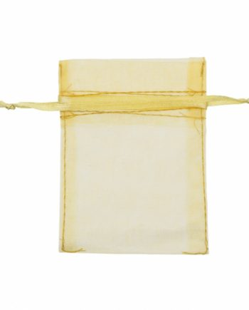 Gold Organza Bag