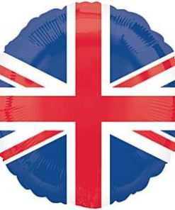 Union Jack Party Union Jack Flag Round Foil Balloon