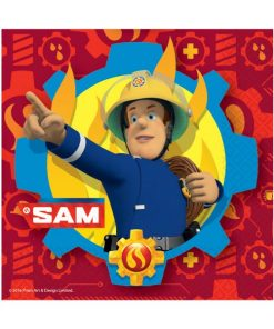 Fireman Sam Party Paper Napkins