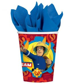 Fireman Sam Paper Party Cups