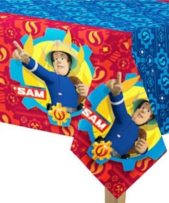 Fireman Sam Party Plastic Tablecover