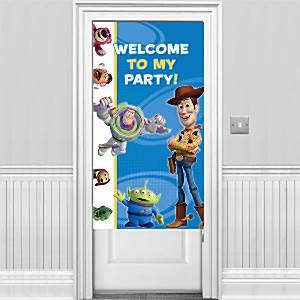 Toy Story Party Door Banner