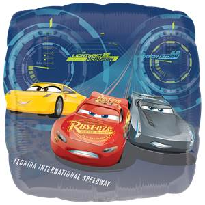 Disney Cars 3 Lightning McQueen Foil Balloon