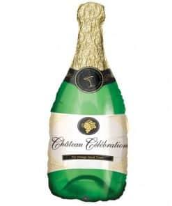 Champagne Bottle Supershape Foil Balloon