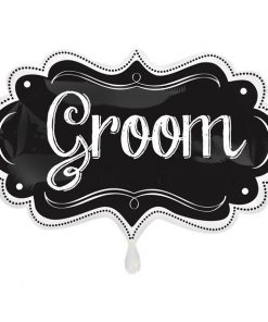 Groom Chalkboard SuperShape Balloon