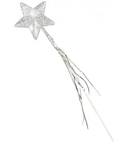Silver Glitter Wand