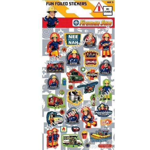 Fireman Sam Sticker Sheet