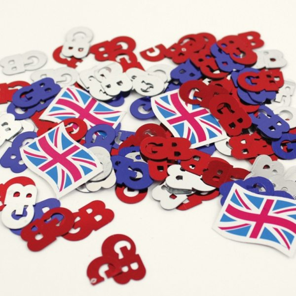 Great Britain Confetti