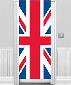 Union Jack Party Door Banner