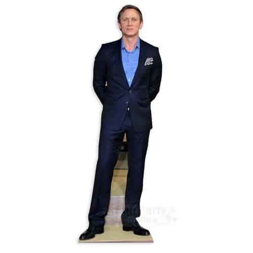 Daniel Craig Lifesize Cardboard Cutout
