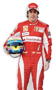 Fernando Alonso Lifesize Cardboard Cutout