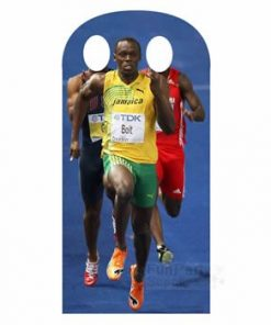 Usain Bolt Olympic Stand In Lifesize Cardboard cutout