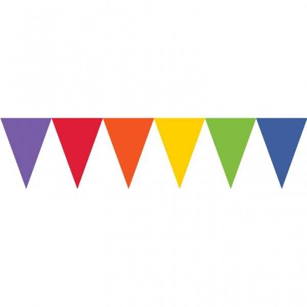 Rainbow Party Paper Bunting