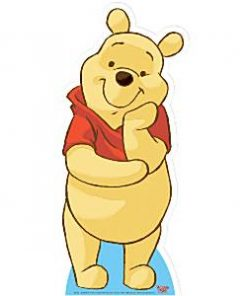 Winnie The Pooh Cardboard Cutout - 93cm