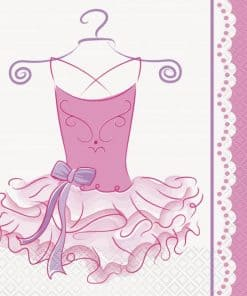 Ballerina Party Paper Napkins