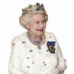 Queen Elizabeth In Crown 1