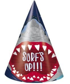 Shark Party Cone Hats