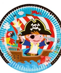 Captain Pirate Party Paper Plates