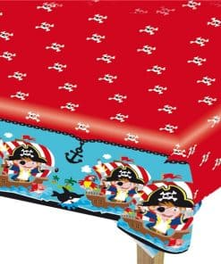 Captain Pirate Party Plastic Tablecover
