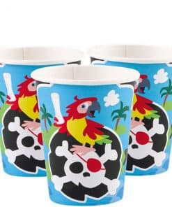 Captain Pirate Party Paper Cups