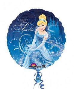 Cinderella Party Foil Balloon
