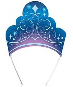 Cinderella Party Bag Fillers - Card Tiaras