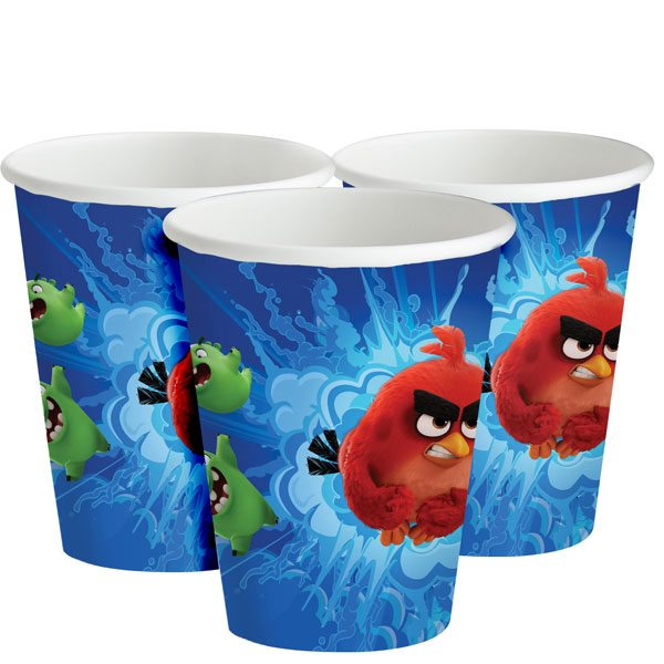 Angry Birds Party Paper Cups