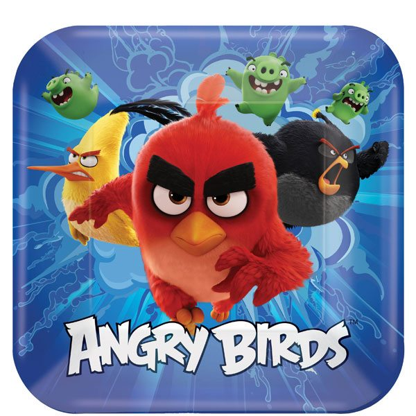 Angry Birds Party Paper Plates Fun Party Supplies