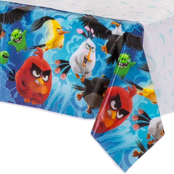 Angry Birds Party Plastic Tablecover