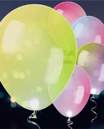 Light Up Balloons & Ribbons