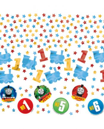Thomas The Tank Engine Party Table Confetti