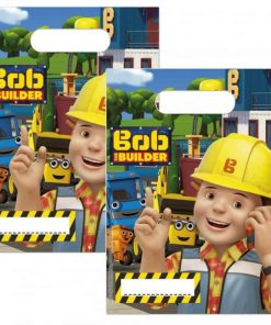 Bob The Builder Party Plastic Loot Bags