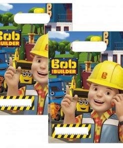 Bob The Builder Party Plastic Loot Bags