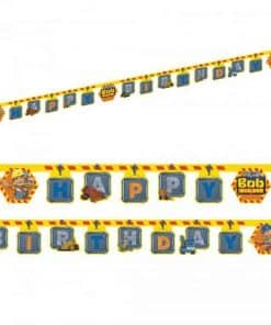 Bob The Builder Party Happy Birthday Banner