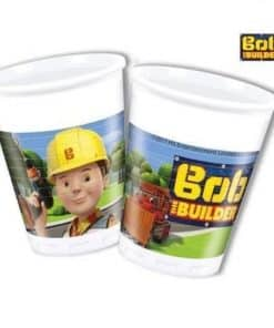 Bob The Builder Party Plastic Cups