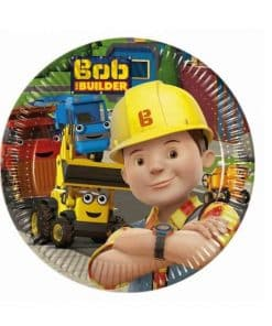 Bob The Builder Party Paper Dessert Plates