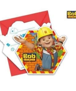 Bob The Builder Party Invitations
