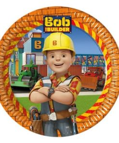 Bob The Builder Party Paper Plates