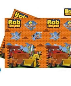 Bob The Builder Party Plastic Tablecover