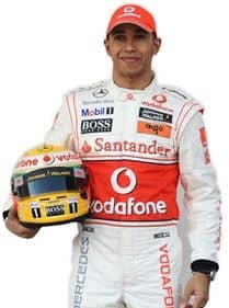 Lewis Hamilton Life Size Cardboard Cut Out