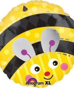 Cute Bumble Bee Round Balloon